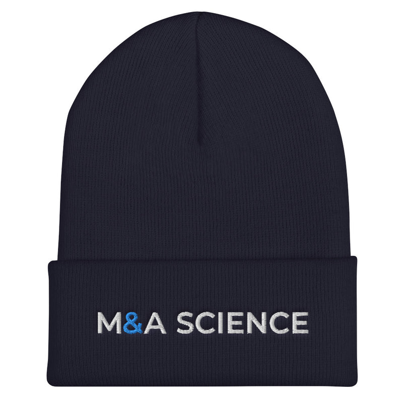M&A SCIENCE Cuffed Beanie
