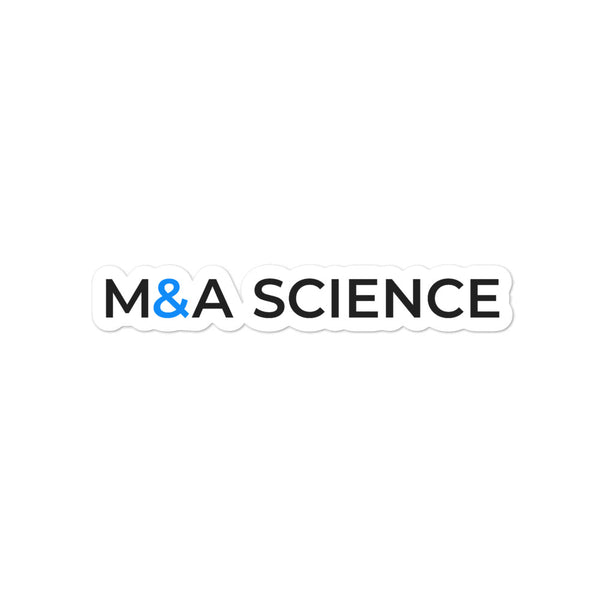 M&A SCIENCE Bubble-free stickers