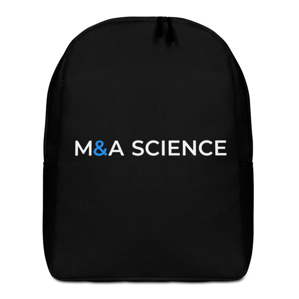 M&A SCIENCE Minimalist Backpack (Black)
