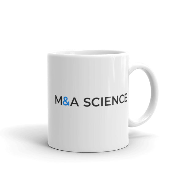 M&A SCIENCE Mug (White)