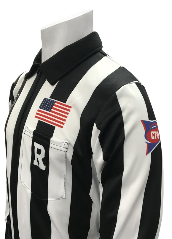 CFO Dye-Sublimated Football Long Sleeve Shirt