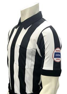"2 1/4"" Stripe KSHSAA Dye-Sublimated ""Body Flex"" Short Sleeve Football Shirt"