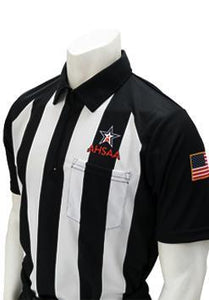 "AHSAA Short Sleeve ""Body-Flex"" Football Referee Shirt"