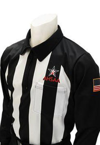 AHSAA Long Sleeve Football Referee Shirt