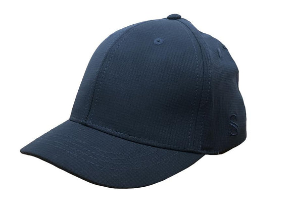 Smitty Performance Navy Umpire Hat - Flex Fit - 4 Stitch