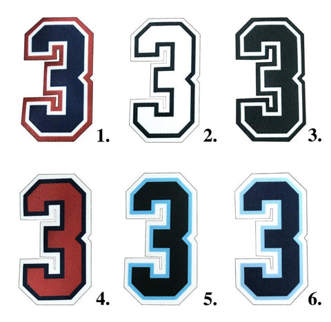 Smitty 3in Umpire Numbers