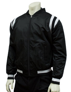 Black Collegiate Basketball Official's Jacket