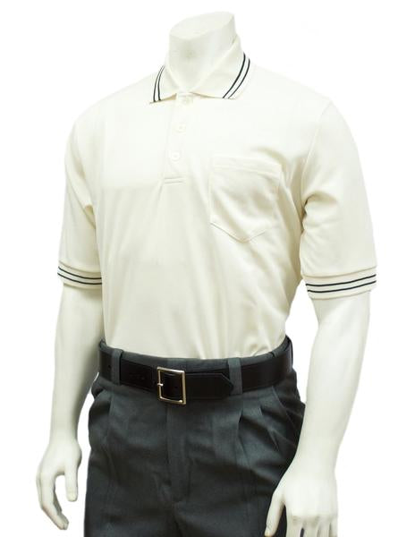 Performance Mesh Umpire Short Sleeve Shirt - Cream