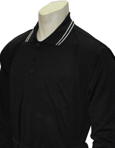 KSHSAA Baseball/Softball Long Sleeve Shirt - Black