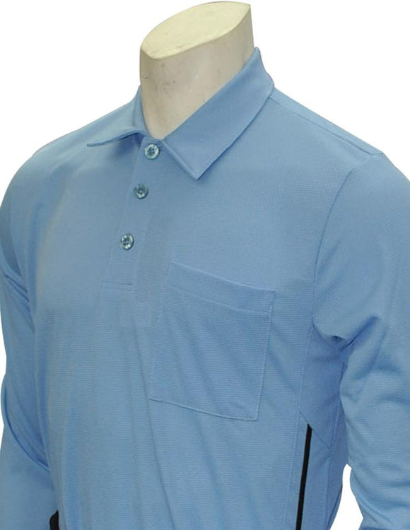 Old Style Major League Style Long Sleeve Umpire Shirt - Carolina Blue