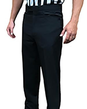 Men's 4-Way Stretch Tapered Flat Front Pants with Western Cut Pockets
