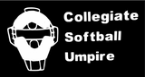 Collegiate Softball Umpire Polo