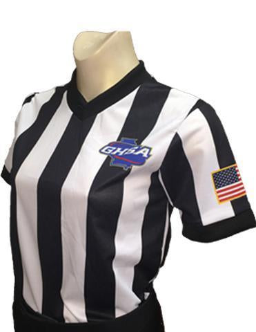 GHSA Basketball Body-Flex Women's Referee Shirt