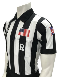 CFO Dye-Sublimated Football Short Sleeve Shirt