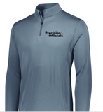 Precision Officials Qtr Zip - Grey