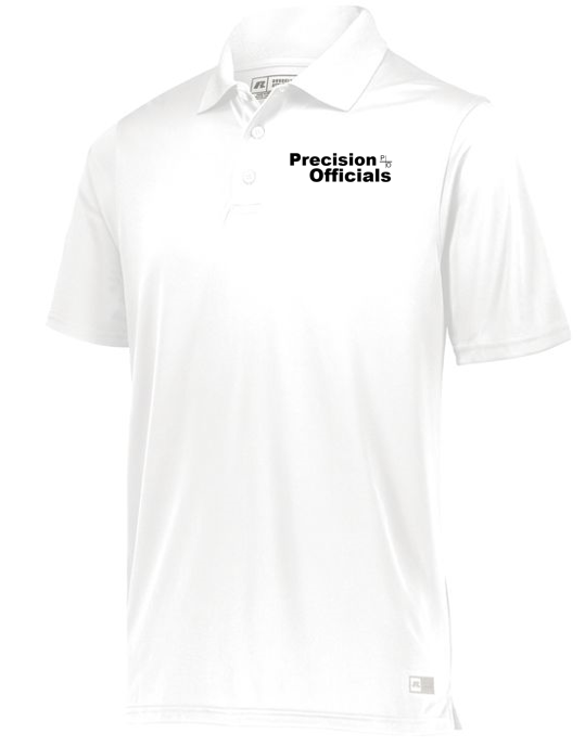 Precision Officials Polo - White