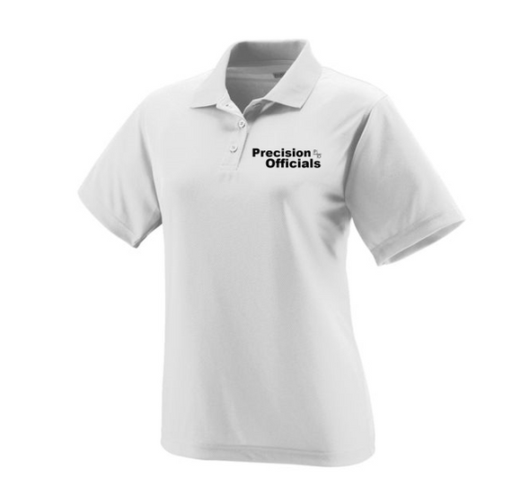 Precision Officials Women's Polo - White
