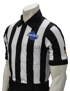 GHSA Short Sleeve Football Referee Shirt
