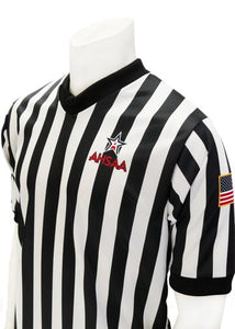 "AHSAA Basketball ""Body-Flex"" Men's Referee Shirt"