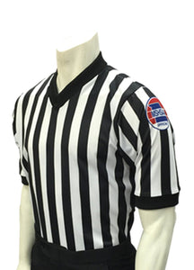 MSHSAA Body-Flex Dye-Sublimated Basketball Men's Referee Shirt