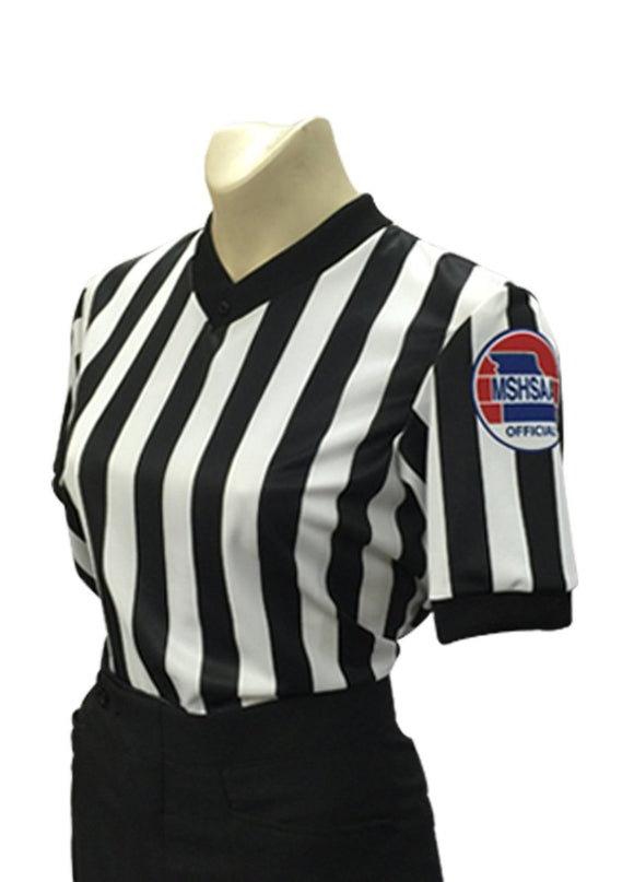 MSHSAA Body-Flex Dye-Sublimated Basketball Women's Referee Shirt