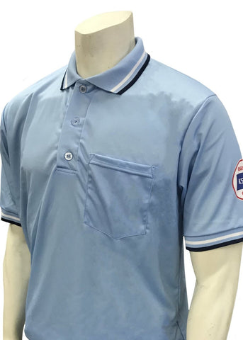 KSHSAA Baseball/Softball Dye-Sublimated Short Sleeve Shirt - Powder Blue