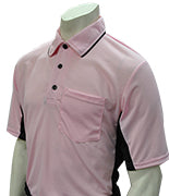 "Smitty ""Major League"" Style Umpire Shirt - Pink"