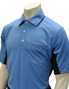 "Smitty ""Major League"" Style Umpire Shirt - Sky Blue"