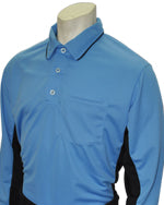 "Smitty ""Major League"" Style Umpire Long Sleeve Shirt - Sky Blue"