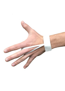 Elastic Wrist Down Indicator - White