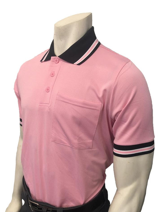 NEW Traditional Body-Flex Umpire Short Sleeve Shirt - Pink