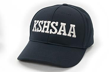 KSHSAA Navy Umpire Hat - Flex Fit