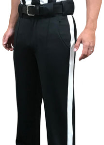 "4-Way-Stretch Tapered Football Pants with 1 1/4"" Stripe"
