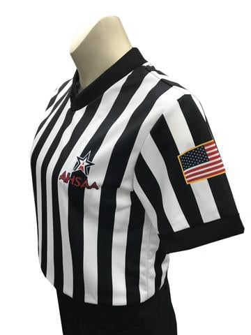AHSAA Basketball Women's Body-Flex Referee Shirt
