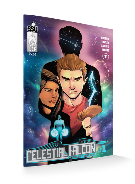 THE CELESTIAL CRATE - Includes All 5 Celestial Falcon #1: Deluxe Edition Covers + Collectibles (Only 20 Available!)