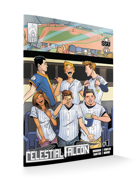 Celestial Falcon #1 Deluxe Edition Variants