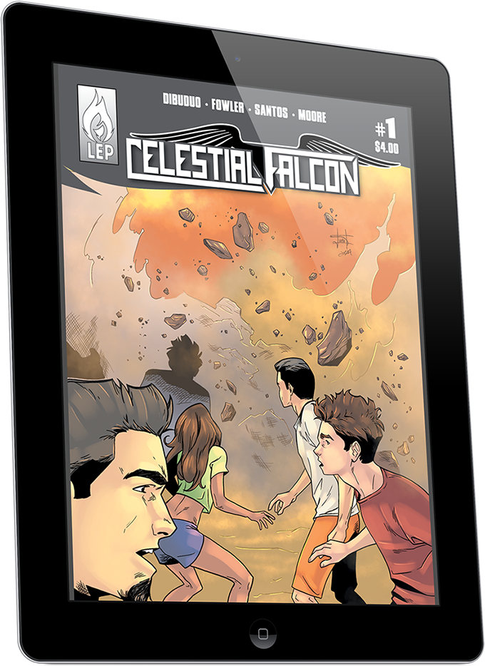 Celestial Falcon #1 (Digital - Regular Edition)