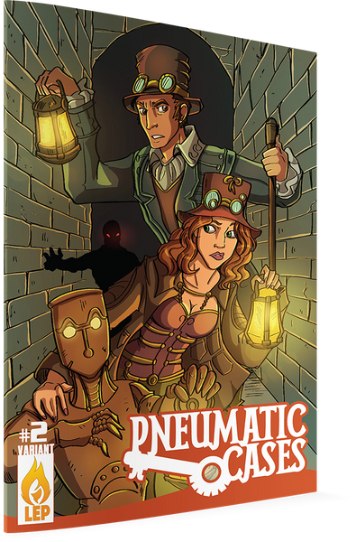 Pneumatic Cases #2 (of 4) Covers A & B