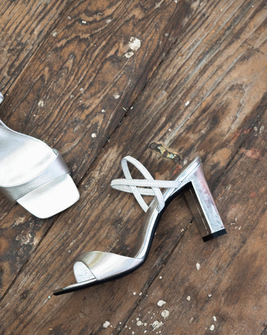 Jeffrey Campbell Carine Silver
