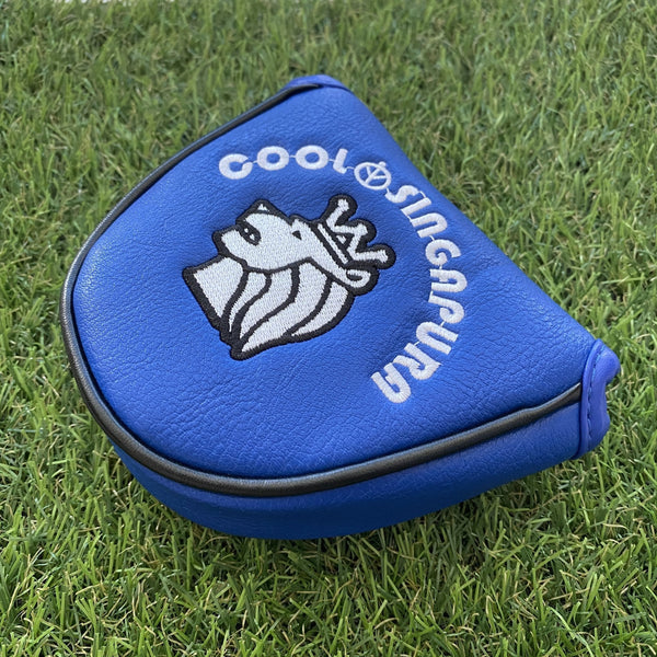 "COOL SINGAPURA GOLF PUTTER COVER ""MALLET"" TYPE - Leyouki"
