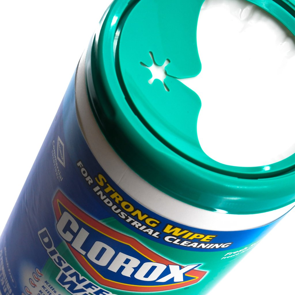 Clorox Wipes Disinfecting Lemon Fresh, Clorox