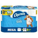 Charmin Ultra Toilet Tissue Rolls - 24 Pack