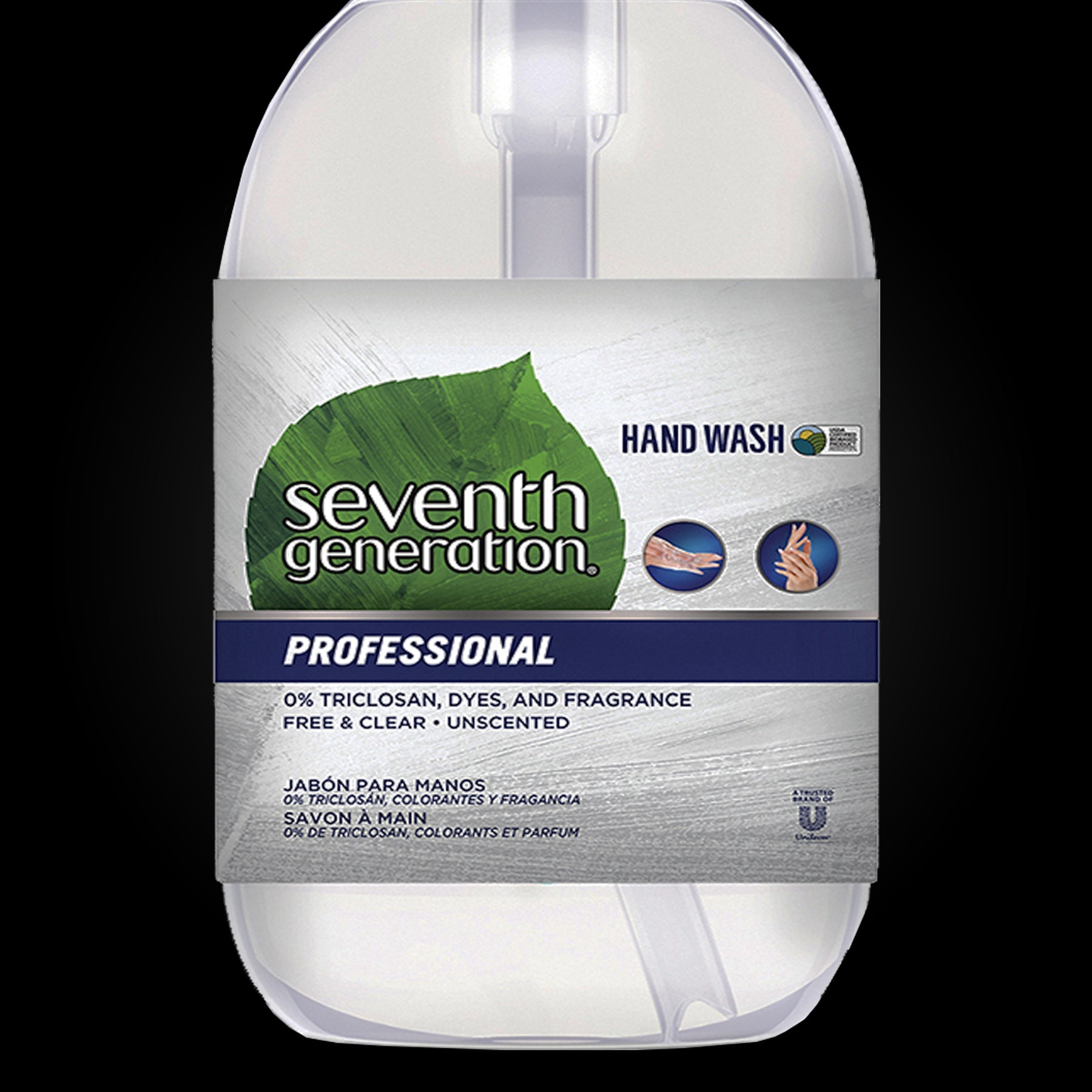 Hand Wash With Pump Action 12oz. By Seventh Generation