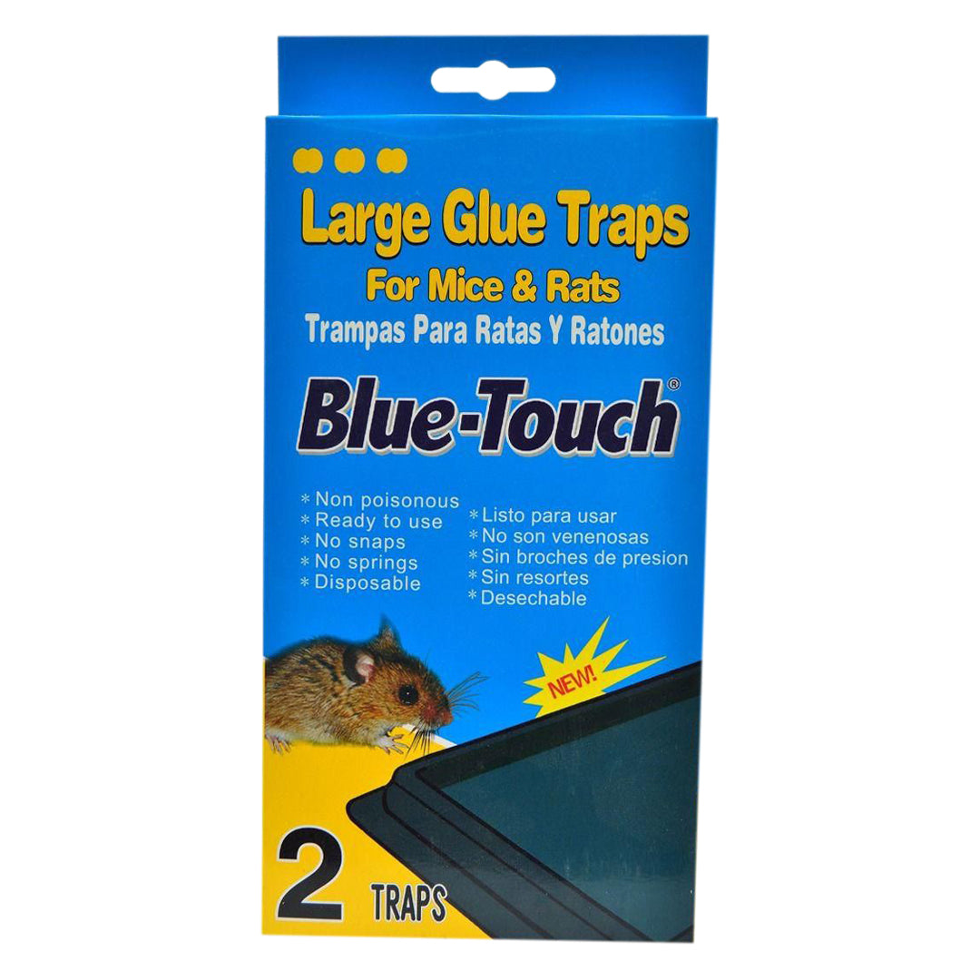 Large Glue Mouse Trap - 2 Pack By Blue Touch Inc