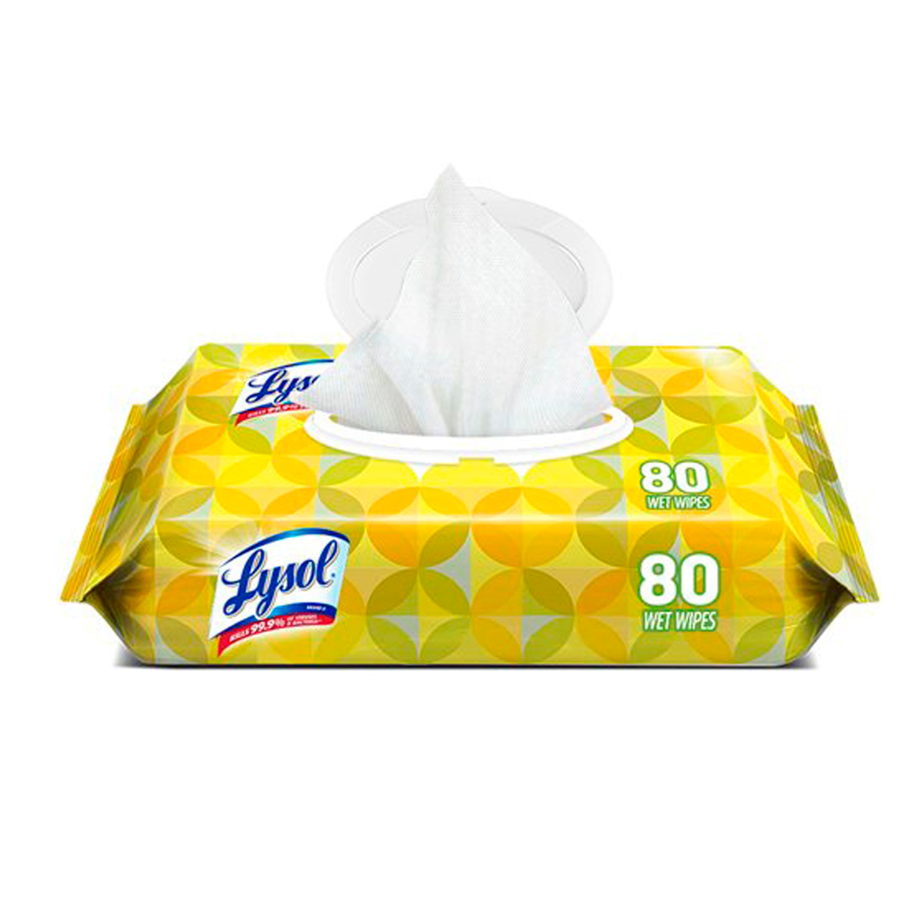 Lysol Disinfecting Wipes, 80ct, Lemon & Lime
