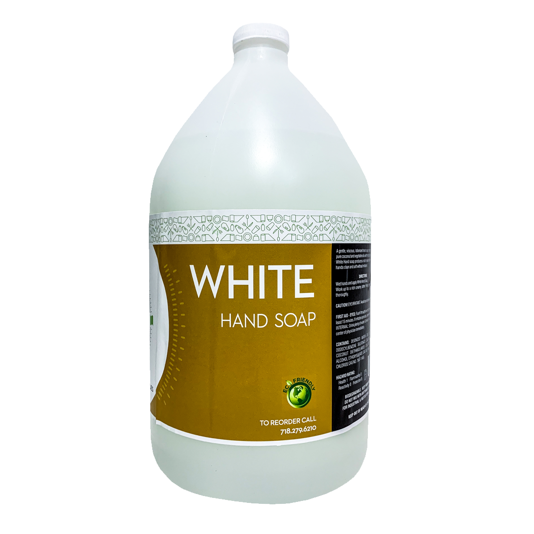 White Hand Soap - 1 Gallon By To Rise