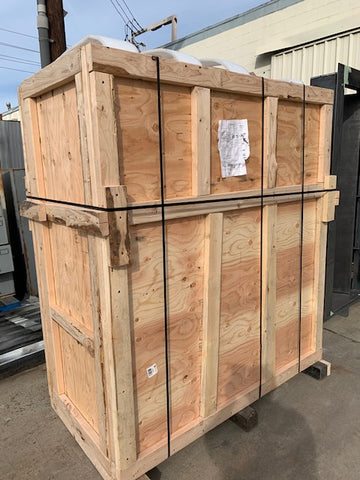 Safe - Vault Crated For Shipping