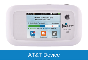 Kajeet 500MB/Day Monthly Data Plan (4G LTE SmartSpot Required)
