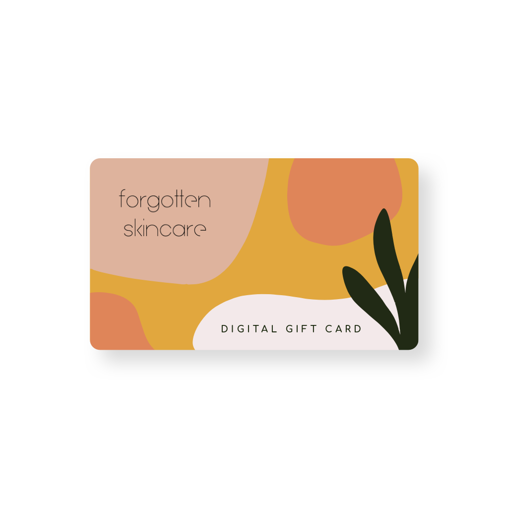 Forgotten Skincare Digital Gift Card
