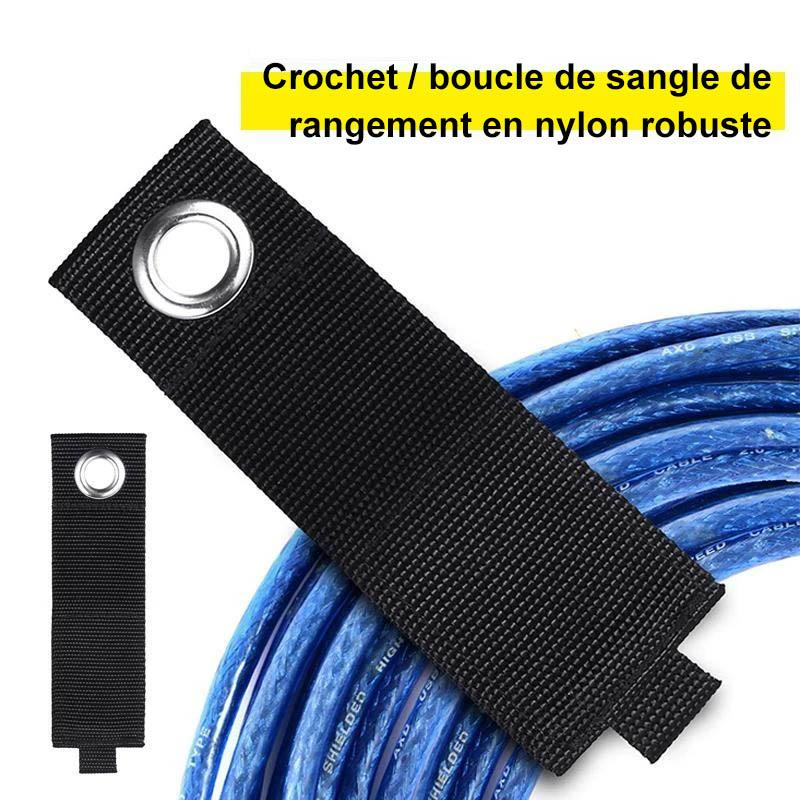 Sangle Velcro de Rangement en Nylon